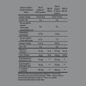 Fat Burner Ananas 1000ml x 6 buc