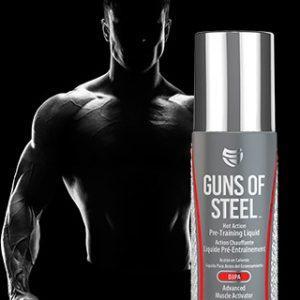 SteelFit Guns of Steel, 3fl oz (89ml)