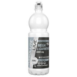 Mega L-carnitine 4000 mg Căpșuni-guava 1000ml